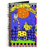 Halloween Cat Journal