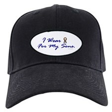 For My Sons (Puzzle Ribbon) Baseball Hat