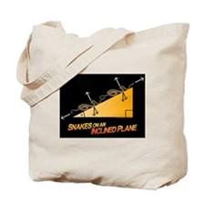 Snakes/Inclined Plane Tote Bag