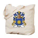 Beau Family Crest Tote Bag