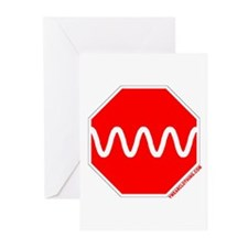 Stop Sine Greeting Cards (Pk of 10)