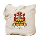Barriere Family Crest Tote Bag
