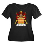 Barriere Family Crest Women's Plus Size Scoop Neck