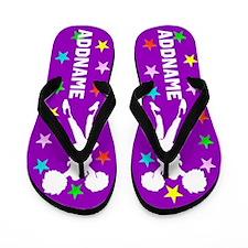 Born To Cheer Flip Flops