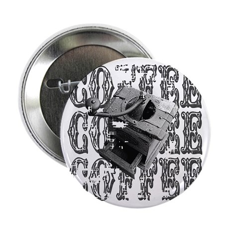 "Coffee Grinder 2.25"" Button (10 pack)"