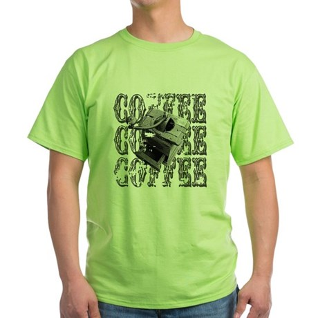 Coffee Grinder Green T-Shirt