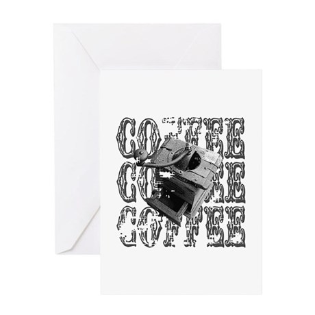 Coffee Grinder Greeting Card