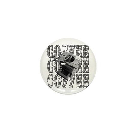 Coffee Grinder Mini Button