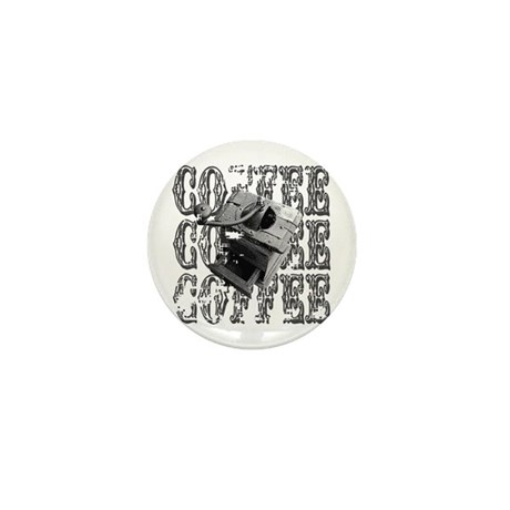 Coffee Grinder Mini Button (100 pack)