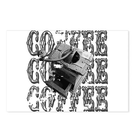 Coffee Grinder Postcards (Package of 8)