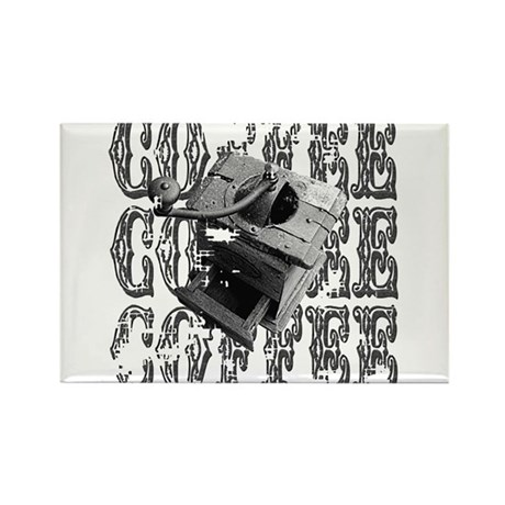 Coffee Grinder Rectangle Magnet (100 pack)