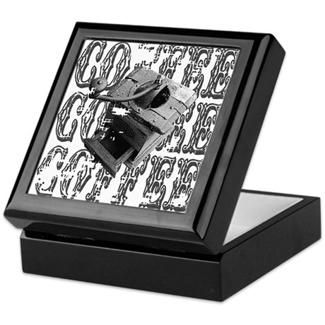 Coffee Grinder Keepsake Box