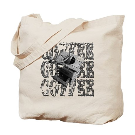 Coffee Grinder Tote Bag
