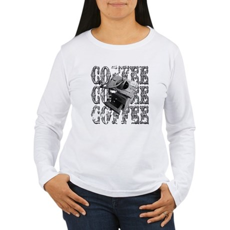 Coffee Grinder Women's Long Sleeve T-Shirt