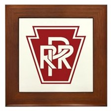 Pennsylvania Railroad Framed Tile