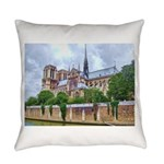 paris notra dam B.jpg Everyday Pillow