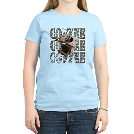 Coffee Grinder - Sepia Women's Light T-Shirt