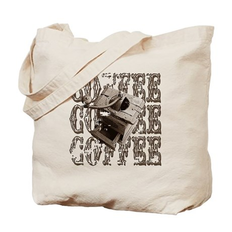 Coffee Grinder - Sepia Tote Bag