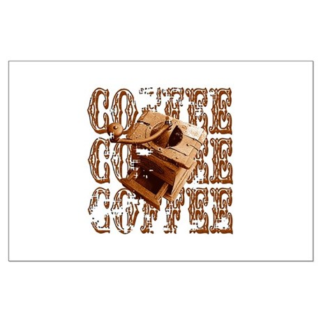 Coffee Grinder - Rich - Large Poster