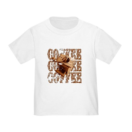 Coffee Grinder - Rich - Toddler T-Shirt