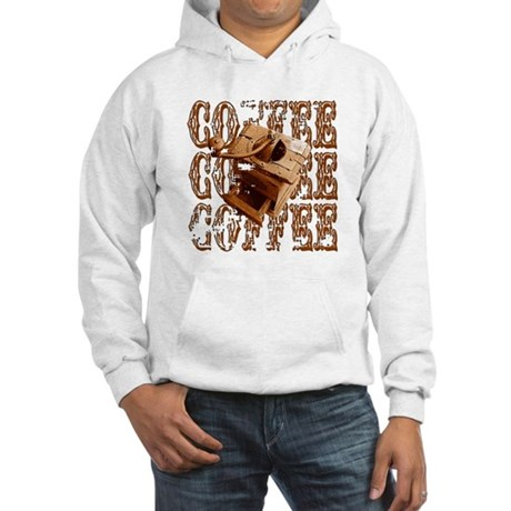 Coffee Grinder - Rich - Hooded Sweatshirt