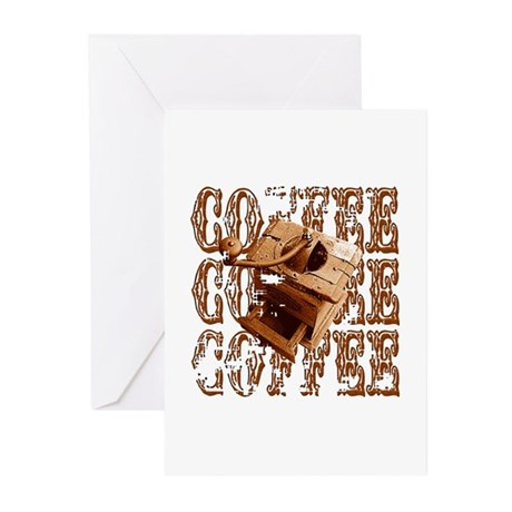 Coffee Grinder - Rich - Greeting Cards (Pk of 20)
