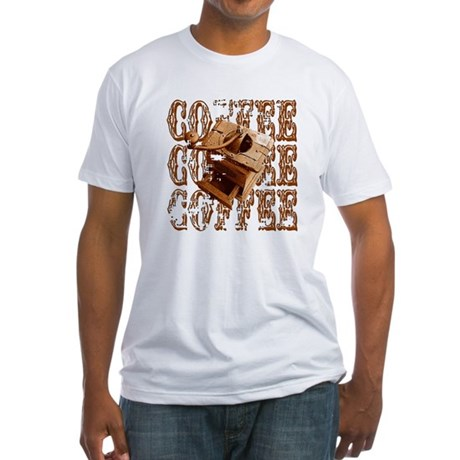 Coffee Grinder - Rich - Fitted T-Shirt