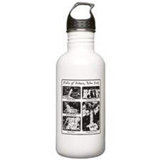 5 falls of Ithaca, NY.png Water Bottle