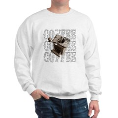 Coffee Grinder - White - Sweatshirt