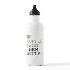 Coffee Then Sculpt Water Bottle