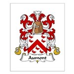 Aumont Family Crest Small Poster