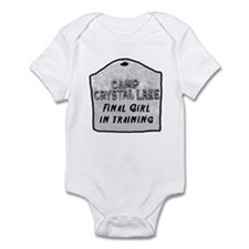 Cute Crystal lake camp Infant Bodysuit