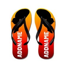 Powerful Diver Flip Flops