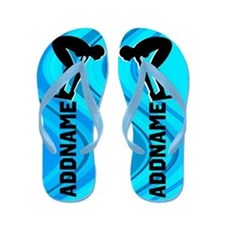Greatest Swimmer Flip Flops