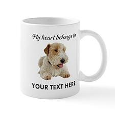 Custom Wire Fox Terrier Mug