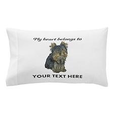 Custom Yorkshire Terrier Pillow Case
