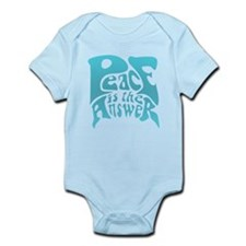 Peace is the Answer Infant Bodysuit