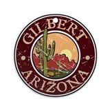 Gilbert Ornament (Round)
