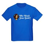 Who Would Jesus Bomb? Kids Dark T-Shirt