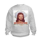 Who Would Jesus Bomb? Kids Sweatshirt