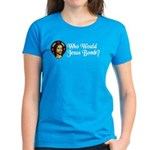Who Would Jesus Bomb? Women's Dark T-Shirt