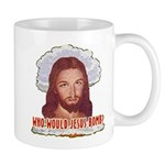 Who Would Jesus Bomb? Mug