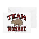 Team Wombat III Greeting Card