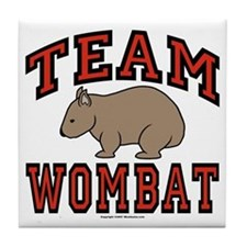 Team Wombat III Tile Coaster