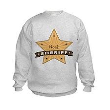 Personalizable Sheriff Star Sweatshirt