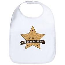 Personalizable Sheriff Star Bib