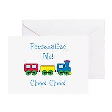 Choo Choo Train Greeting Card