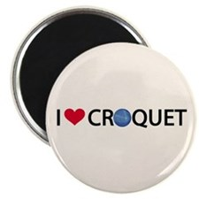 "Love Croquet 2.25"" Magnet (10 pack)"