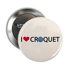 "Love Croquet 2.25"" Button (10 pack)"