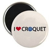 Love Croquet Magnet
